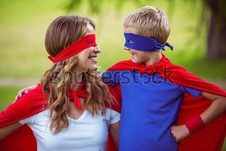 Afbeelding moeders dag groet gelukkig gezin Stockfoto © wavebreak_media