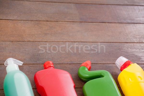Detergente bottiglie home fitness Foto d'archivio © wavebreak_media