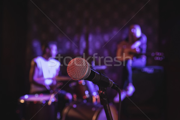 Close up of microphone Stock photo © wavebreak_media