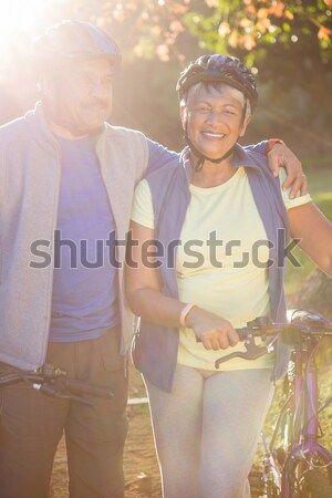 View sorridere senior donna Foto d'archivio © wavebreak_media