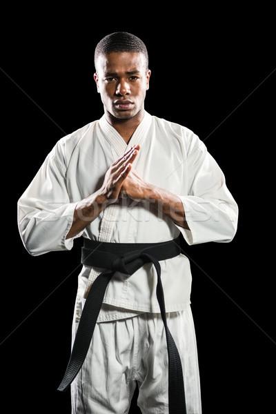 истребитель стороны человека фитнес белый Сток-фото © wavebreak_media