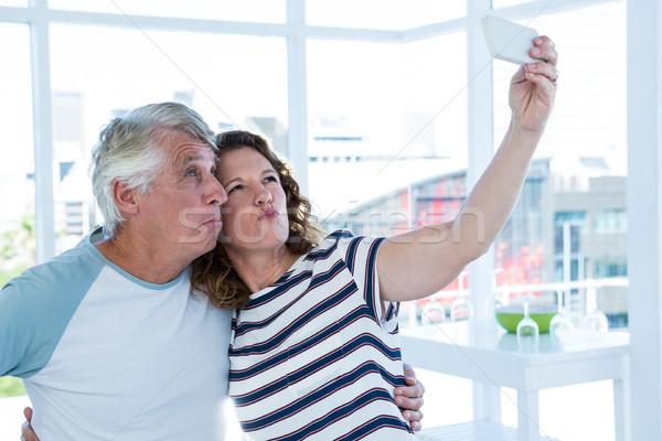 Volwassen paar vrouw liefde man Stockfoto © wavebreak_media