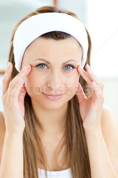 портрет красивая женщина лице ванную здоровья Сток-фото © wavebreak_media