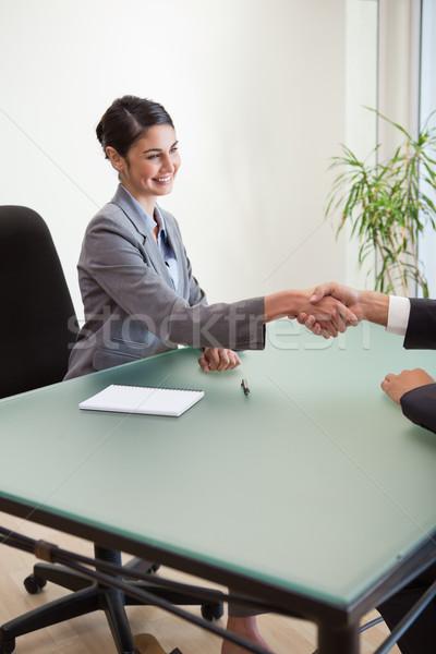 Ritratto manager cliente ufficio business Foto d'archivio © wavebreak_media