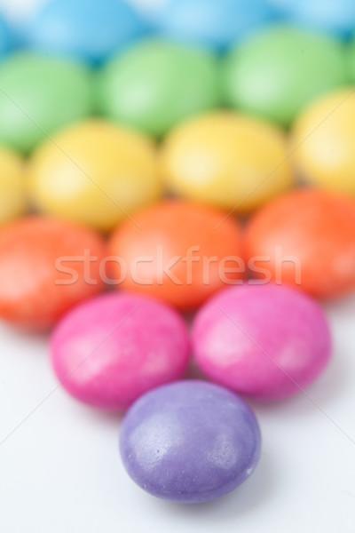 Obfitość żywności czekolady tle jedzenie Zdjęcia stock © wavebreak_media
