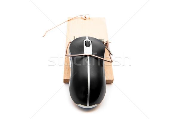 черный Компьютерная мышь белый компьютер мыши технологий Сток-фото © wavebreak_media