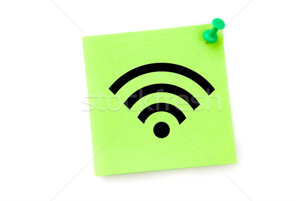 Composite image of wifi symbol Stock photo © wavebreak_media
