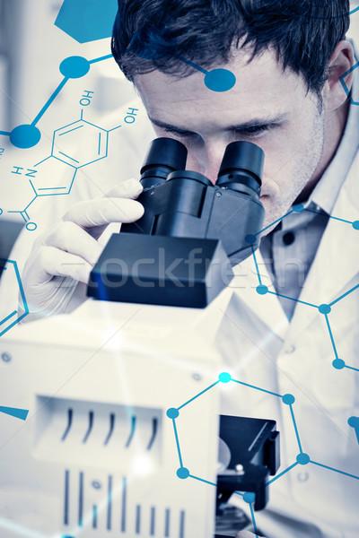 Composite image of science formula Stock photo © wavebreak_media