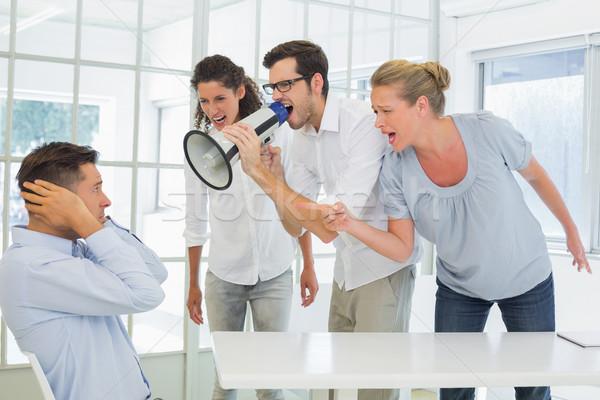 случайный бизнес-команды коллега служба человека Сток-фото © wavebreak_media