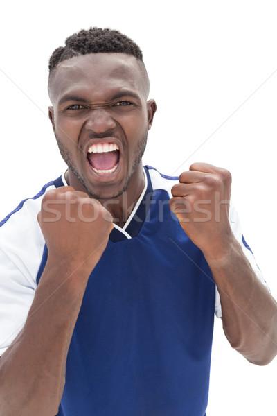 Portre beyaz spor futbol Stok fotoğraf © wavebreak_media