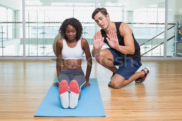 Pracy klienta wykonywania sportu ciało Zdjęcia stock © wavebreak_media