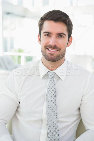 Portrait of a smiling businessman well dressed  Stock photo © wavebreak_media