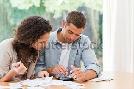 Focused business people taking notes during presentation Stock photo © wavebreak_media