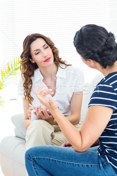 терапевт прослушивании пациент белый подчеркнуть Сток-фото © wavebreak_media