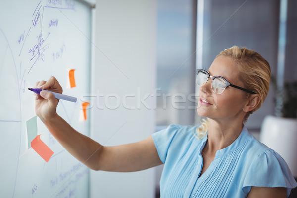 внимательный исполнительного Дать служба женщину Сток-фото © wavebreak_media