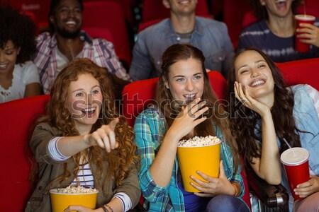 группа людей смотрят фильма театра человека фильма Сток-фото © wavebreak_media