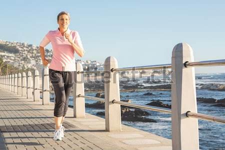 Odaklı uygun jogging mesire Stok fotoğraf © wavebreak_media