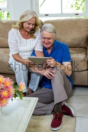 старший человека женщину Керамика рисунок Сток-фото © wavebreak_media