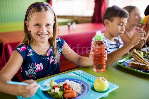 Children eating at the canteen  Stock photo © wavebreak_media