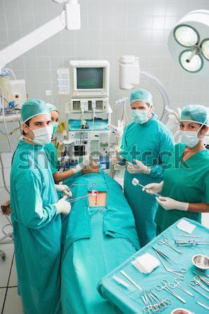Chirurghi operazione teatro ospedale uomo Foto d'archivio © wavebreak_media