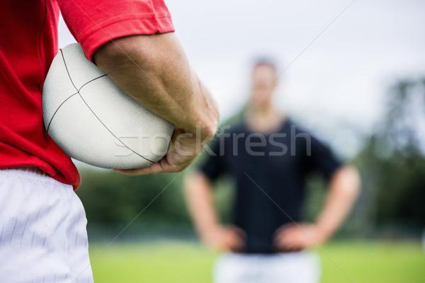 регби играет матча парка человека Сток-фото © wavebreak_media