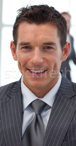 Close-up of an attractive businessman Stock photo © wavebreak_media
