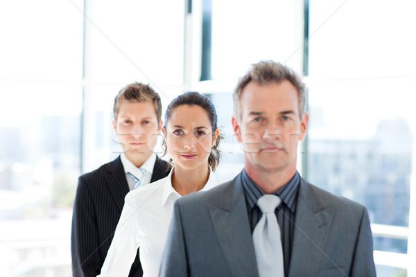 деловая женщина Focus команда линия бизнеса служба Сток-фото © wavebreak_media
