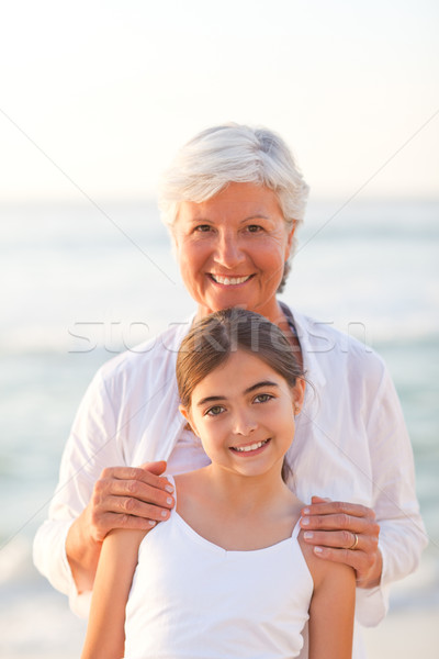 Portrait of a Grandmother with her granddaughter Stock photo © wavebreak_media