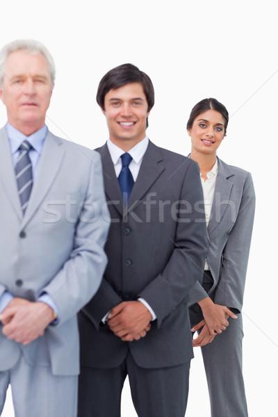 小さな メンター 白 ビジネス ビジネスマン ストックフォト © wavebreak_media