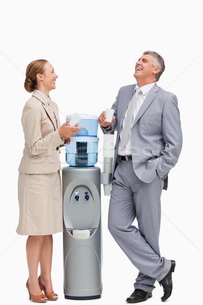 люди смеясь воды белые люди работу здоровья Сток-фото © wavebreak_media