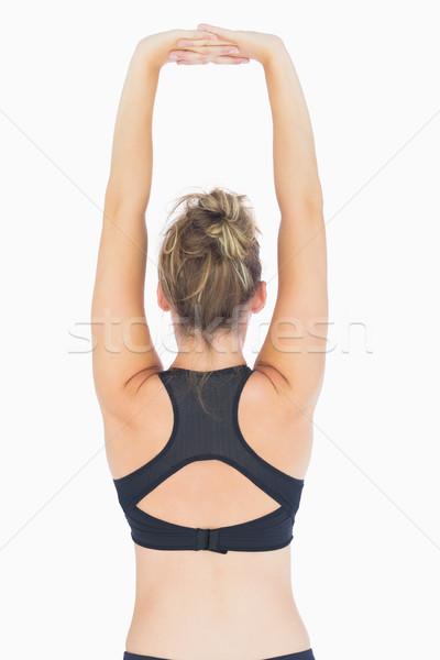 женщину оружия тренировки тело женщины Сток-фото © wavebreak_media