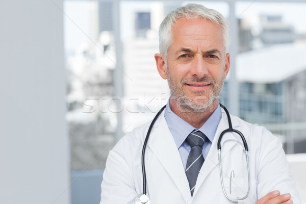 Doctor standing with arms folded Stock photo © wavebreak_media