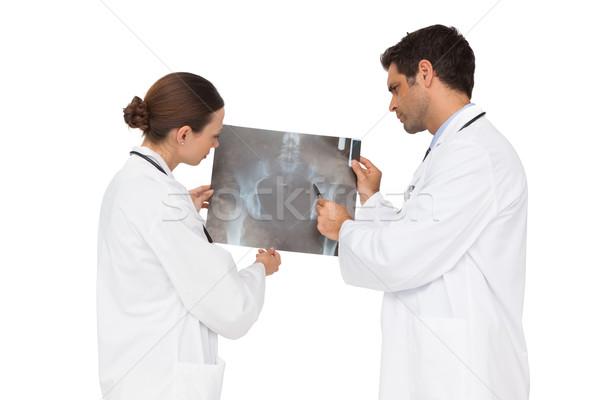 медицинской команда Xray вместе белый человека Сток-фото © wavebreak_media