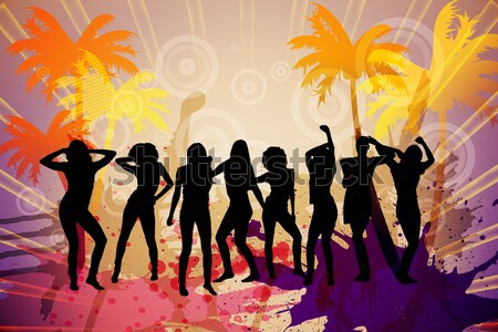 Digitally generated nightlife background Stock photo © wavebreak_media