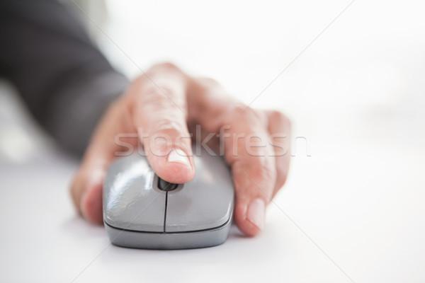 Businessmans hand on computer mouse Stock photo © wavebreak_media
