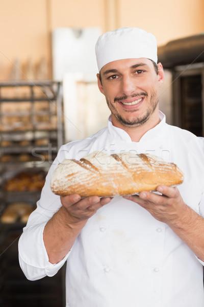 Baker pagnotta cucina Foto d'archivio © wavebreak_media