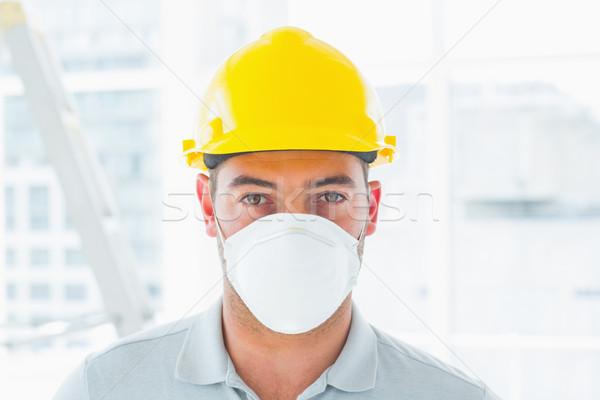 Klusjesman plaats portret man Stockfoto © wavebreak_media
