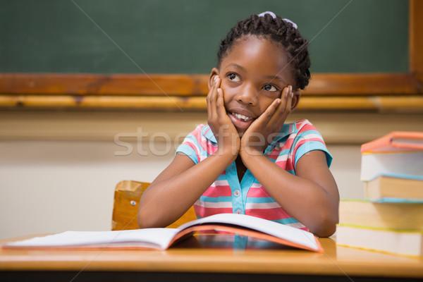 Sessão secretária escola primária escolas criança retrato Foto stock © wavebreak_media