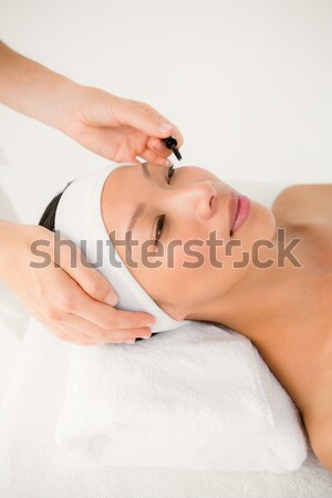 Beautiful young woman on massage table  Stock photo © wavebreak_media