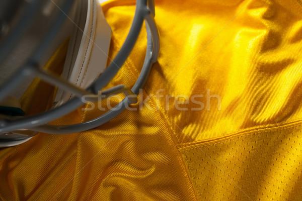 Ver esportes capacete amarelo esportes Foto stock © wavebreak_media