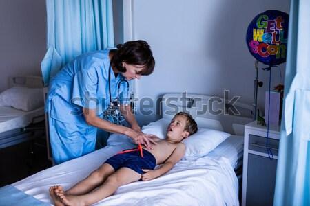 Doctor examining a x-ray Stock photo © wavebreak_media