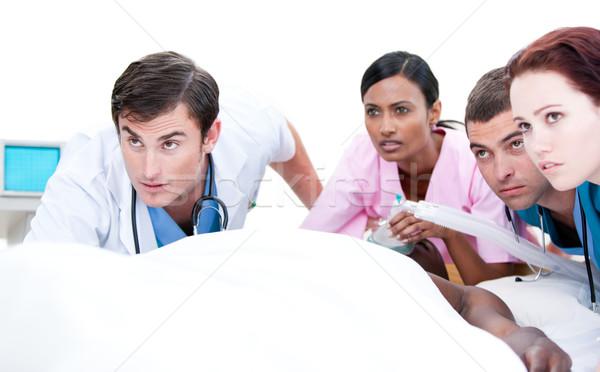медицинской команда пациент больницу человека сердце Сток-фото © wavebreak_media