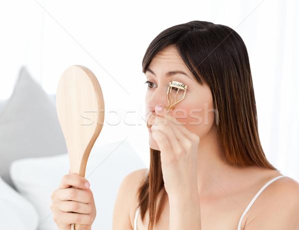 Mujer espacio bano piel femenino Foto stock © wavebreak_media
