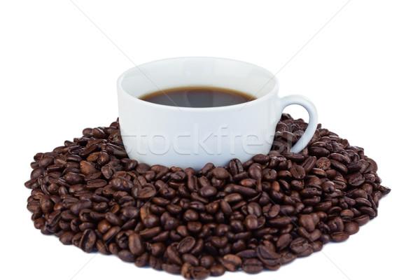 Kicsi csésze kávé kávé fehér étel Stock fotó © wavebreak_media