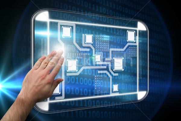 изображение стороны двоичный код Сток-фото © wavebreak_media