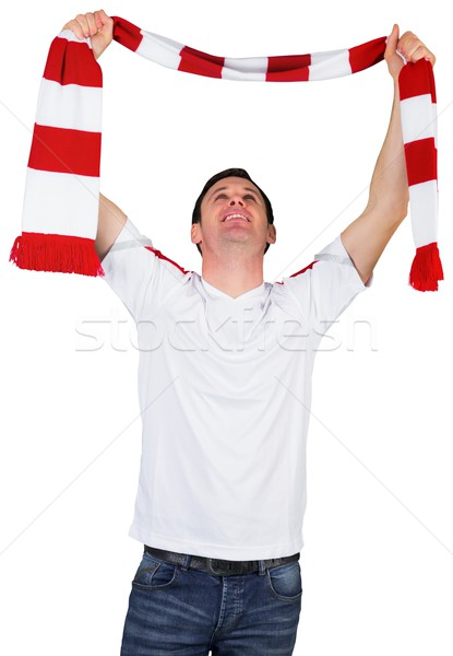Calcio fan bianco uomo calcio Foto d'archivio © wavebreak_media