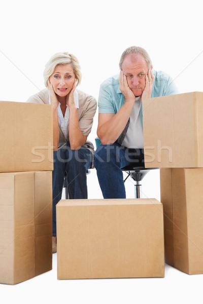 älter Paar weiß Immobilien Stock foto © wavebreak_media