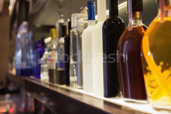 Birkaç şişe hat gece kulübü Stok fotoğraf © wavebreak_media