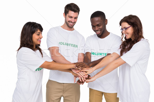 Teamwork participating at charity together Stock photo © wavebreak_media