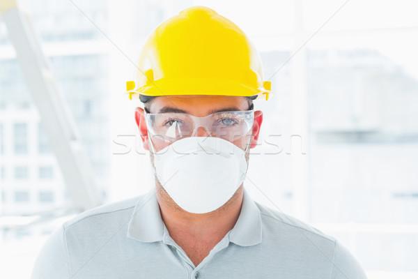 Klusjesman portret plaats man Stockfoto © wavebreak_media